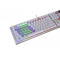 Reccazr KG908 Luminous standard RGB Wired Mechanical gaming keyboard , Blue switch , N key rollover