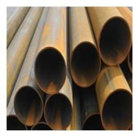 Wholesale 10mm 30mm Welded Steel Pipe / Galvanized Black Steel Pipe Length 2m-12m from china suppliers