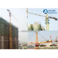 Quality QTZ6012 Hammerhead Tower Crane 8 ton 60m Jib Hydraulic Overhead Crane Machine for sale
