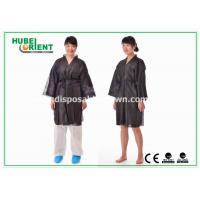 Wholesale Breathable Soft Nonwoven Polypropylene Disposable Bathrobe for Spa Sauna from china suppliers