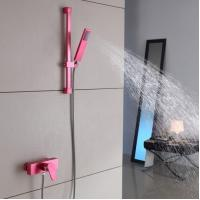 Wholesale Portable Hand Hold Shower Curtain Sets High Quality Stainless Steel Sanitary Products from china suppliers