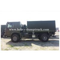 Wholesale Howo 266 hp 4x2 Heavy Cargo truck 16 tons 15 CBM  one sleeper cab from china suppliers
