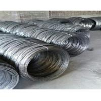 Black Wire Iron Perforated Metal Mesh Annealed Cutting Wire For Construction