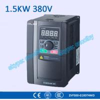 Wholesale 1.5kw 380V CNC Variable-Frequency Drive motor AC drive AC-DC-AC 50Hz/60Hz frequency converter transducer Three Phase VFD from china suppliers