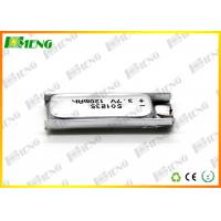 Wholesale Small Lithium Polymer Rechargeable Batteries 3.7V 130Mah 501235 from china suppliers