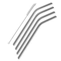 Wholesale XBR 10-Inch Stainless Steel Straws with Free Cleaning Brush for 30oz Tumblers, Set of 4 from china suppliers