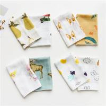 Wholesale Cute Animal Pattern Baby Muslin Handkerchief Cloth Custom Printing from china suppliers