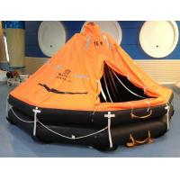 Buy cheap ISO Marine throw-overboard,self-righting,davit launched inflatable life raft from wholesalers
