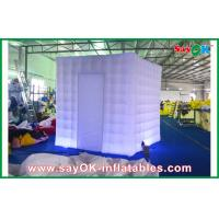 Wholesale Purple Square Inflatable LED Photo Booth Enclosure With Led Lights from china suppliers