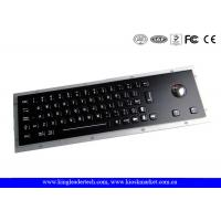Wholesale High Vandal-Proof Black Metal Keyboard Stainless Steel With 64 Keys from china suppliers