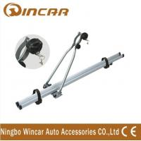 Wholesale 4wd automobile upright Aluminium roof bike carrier for locking up 1 bicycle from china suppliers
