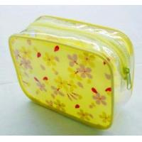Wholesale Customized PVC printed waterproof cosmetic bag, PVC packing bag, toiletry bag from china suppliers