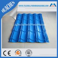 Wholesale Color Steel Glazed Tile Roll Forming Machine / Roof Wall Cladding Roll Former Machine from china suppliers