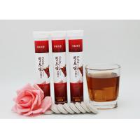 Wholesale Brown Color Effervescent Energy Tablets / Caffeine Energy Vitamin Fizz Tablets from china suppliers
