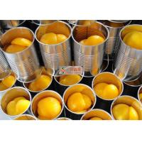 Wholesale Organic no sugar added tasty sweet and sour canned sliced yellow peaches from china suppliers