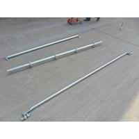 Wholesale Support  2.42 M Galvanized Steel Scaffolding Easy Erect / Dismantle For Building Construction from china suppliers