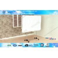 Buy cheap DIY Single Pole Modern Telescopic Rotating Metal Cloth Rack For hanging Shirts and Quilts from wholesalers