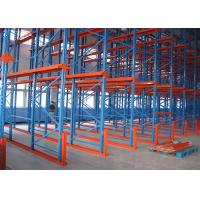 Quality Steel Adjustable Drive In Steel Warehouse Shelving , Pallet Racking Shelves 4000kg/Level for sale