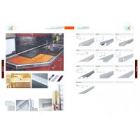 Wholesale Aluminum tile trim ,6000 series aluminum extrusion from china suppliers