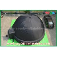 Wholesale Black 7m DIA Inflatable Mobile Planetarium Projection Inflatable Dome Cinema Tent from china suppliers