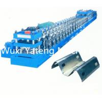 Quality Two Waves Guardrail Cold Roll Forming Machine Gear Box Driven System Forged Iron Side Plate for sale