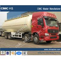 Wholesale Sinotruk howo 45cbm bulk cement tanker truck 8x4 from china suppliers