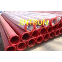 Wholesale St52 DN125  Concrete Pump Pipe SK HD ZX Male / Female Flange Galvanizing from china suppliers