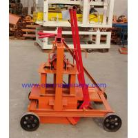 Wholesale 2-45 Concrete Blocks Making Machine Movable Cement Bricks Machinery Brick Making Machine from china suppliers