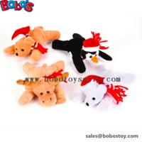 "Wholesale 6""Xmas Bean Bag Stuffed Animal Toy Children Christimas Gift from china suppliers"