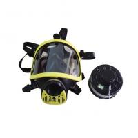 Wholesale CERTIFICATED SILICONE Full face Gas mask with carbon filter from china suppliers