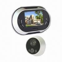 Wholesale 3.5-inch LCD Screen Video Door Viewer with Doorbell and Automatically Take Photo Function from china suppliers