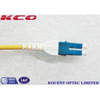 Wholesale Uniboot LC Single Mode OS2 Fiber Optic Patch Cord 10m 15m 20m 30m LSZH from china suppliers