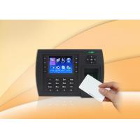 Quality RFID card reader Biometric Time Clock / Fingerprint Scanner Time Attendance with USB for sale