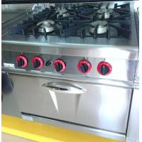 Wholesale LPG / Natural Gas 4 Burner Cooking Range Impulsive Ignition Stainless Steel Gas Stove from china suppliers