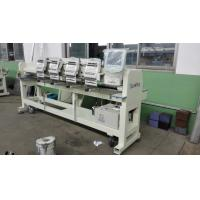 Wholesale Computerized 4 Head Embroidery Machine , Hat Embroidery Machine Max Speed 850 RPM from china suppliers
