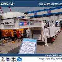 Wholesale CIMC dual axles 35 tons lowboy trailer from china suppliers