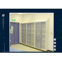 Quality Laboratory Storage Cabinet Solvent Storage Cabinet Tempred Glass Door for sale