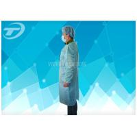 Wholesale 18-40G / M2 Disposable Medical Gowns Nonwoven With Knitted Cuff from china suppliers