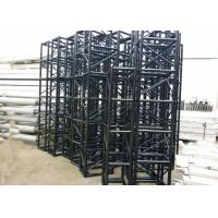 Wholesale Ground Support Black Colour Aluminum Stage Truss Manufacturers / Portable Lighting Truss from china suppliers