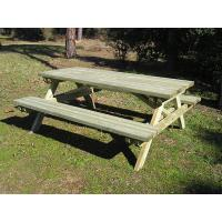 Wholesale sell outdoor table and chair from antirot treatment pine from china suppliers