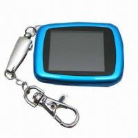 Wholesale Digital Photo Keychain/Waterproof Photo Keychain, Easy to Operate/Customized Colors/Designs Accepted from china suppliers