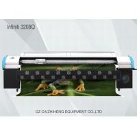 Quality Large Format Digital Solvent Printer , Challenger 3208Q Digital Printing Machine For Fabric for sale
