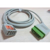 Wholesale nihon kohden 12pin 6lead ecg trunk cable for JC-906Psuit for BSM2301K from china suppliers
