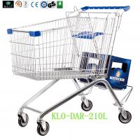 Wholesale Large Zinc Plated Kids Metal Shopping Carts With Baby Seat European Style from china suppliers