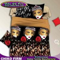 Wholesale Best Selling Fashion Lovely Queen Mask 3D Printed Bedding Sets from china suppliers