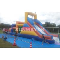 Wholesale Huge commercial Inflatable obstacle course bounce house For Outside Entertainment from china suppliers