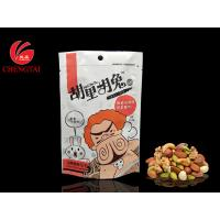 Wholesale Custom Order Stand Up Pouches / Snack Packaging Bags with Aluminum Foil from china suppliers