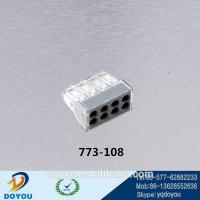 Wholesale WAGO 773-108 Push-Wire Connector For Junction Box 8-Conductor Terminal Block from china suppliers