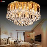 "Wholesale 50CM (19.7"") Diameter K9 crystal ceiling light bedroom lamp living room lights fashion Top Crystal Ceiling lighting from china suppliers"