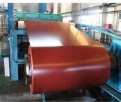 Buy cheap Workshop Color Coated Galvanized Steel Coil / Sheet 600mm - 1250mm Width from wholesalers
